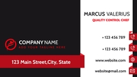 modern corporate business card design templat template