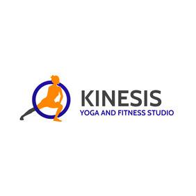 modern creative yoga and fitness studio logo template
