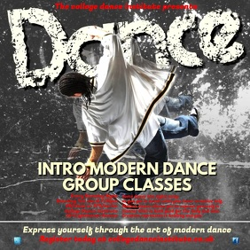 Modern Dance Classes Video Post