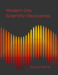 Modern Day Scientific Discoveries Flyer (US Letter) template