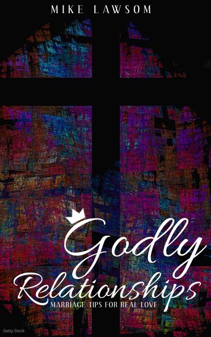 Modern Digital Christian Dating Book Cover template
