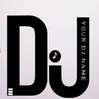 Modern DJ Logo Video Logotyp template