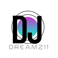Modern DJ Music Logo Design Logótipo template