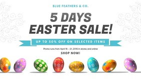 Modern Easter Sale Cover Video