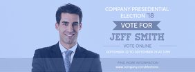 Modern Election Campaign Facebook Cover Template