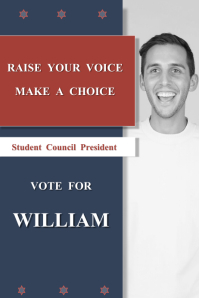 Modern Election Campaign Poster Template