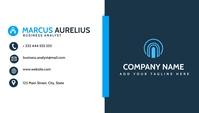 modern elegant tech business card template de