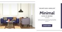 modern facebook advertisement furniture adver template
