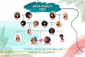 Modern Family Tree Template