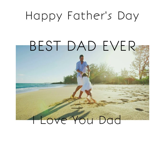 Modern Father's Day Invitation