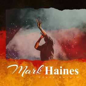 Modern Fire Gospel Church Album Cover template