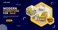 Modern Furniture Image partagée Facebook template