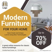 Modern Furniture Social Media Advert Square (1:1) template