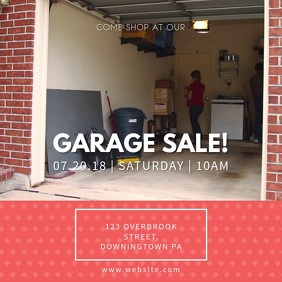 Modern Garage Sale Ad Local Garage Sale Onlin