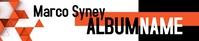 Modern Geometrical Soundcloud Banner template