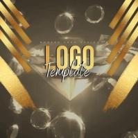 MODERN GOLD DIAMOND LOGO DESIGN template