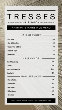 Modern Hair Salon Spa