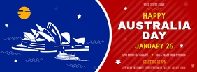 Modern Happy Australia Day FB Cover