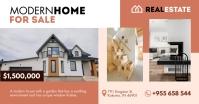 Modern Home Sale Real Estate Facebook Post template
