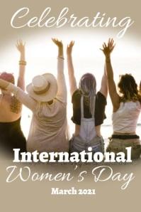 Modern International Women's Day Slide Post Iphosta template