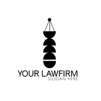 Modern Law Firm Logo template