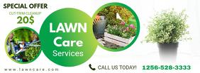 Modern Lawn Care Service Header
