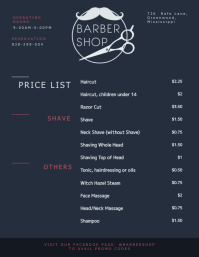 320 customizable design templates for price list postermywall