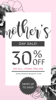 Modern Mother's Day Sale Promo Instagram Ad