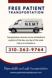 Modern Non-emergency Transport Flyer
