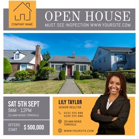 Modern Open House Online ad
