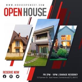 Modern Open House Real Estate Advert
