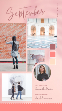 Modern Pastel Moodboard Instagram Story