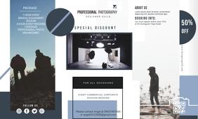 Modern Photographer Studio Custom Pamphlet De template