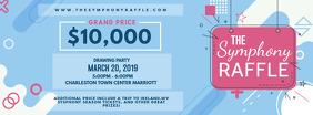 Modern Raffle Contest Invitation Ticket