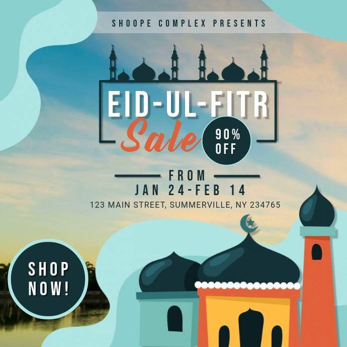 Modern Ramadan Sale Online Ad
