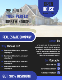 Modern Real Estate Business Flyer Design Template