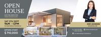 Modern Regal Real Estate Facebook Cover template