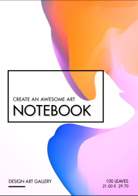 Modern Register Notebook Cover