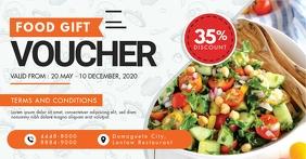Modern Restaurant Gift Voucher