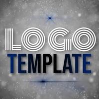 modern simple logo template