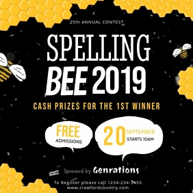 Modern Spelling Bee Video