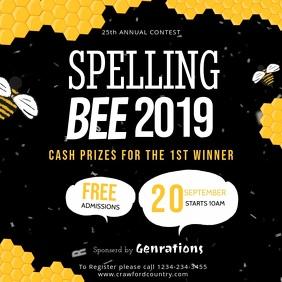 Modern Spelling Bee Video