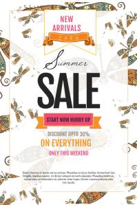 Modern Summer Sale Poster