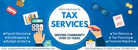 Modern Tax Services Ad Custom Template