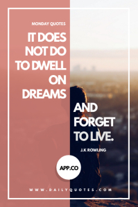 Modern Travel and Life Quote Tumblr template