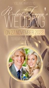 MODERN WEDDING INVITATION DESIGN TEMPLATE Instagram Story