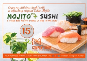Mojito & Sushi Promotion Offer