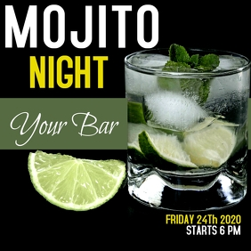 Mojito / happy hour / party night