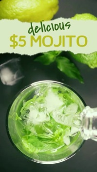 Mojito Instagram Advert Template