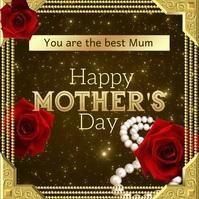 Mom & Me, Mother's Day Publicación de Instagram template